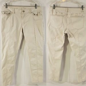 """WHBM """"The Skinny"""" Women's Size 16 Cropped Pants"""